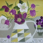 Hellebores_in_Geometric_Jug