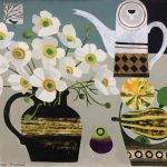 White Anemones and Squashes